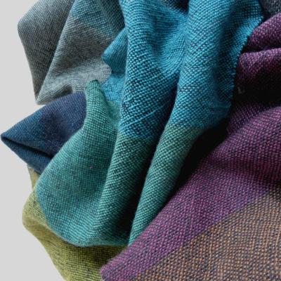 handgewebte Schals