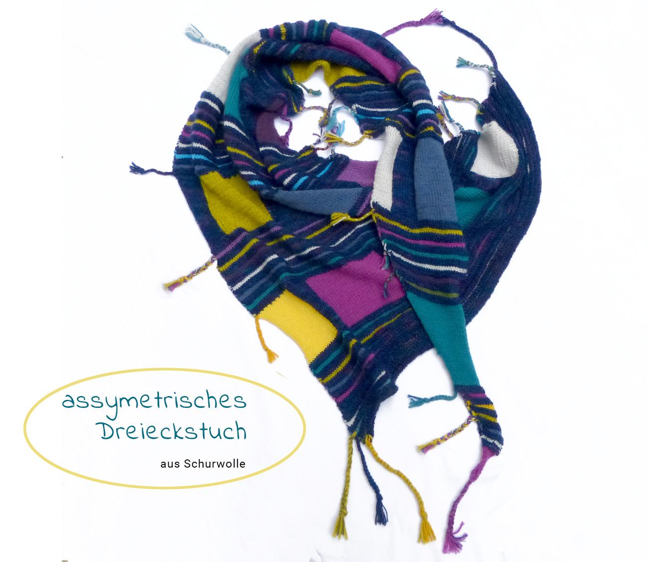 Stricktuch in Schurwolle