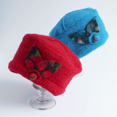Mütze aus Wollwalk gefüttert